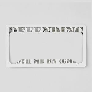 49th copy License Plate Holder