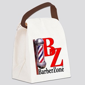 Official BarberZone Logo Canvas Lunch Bag