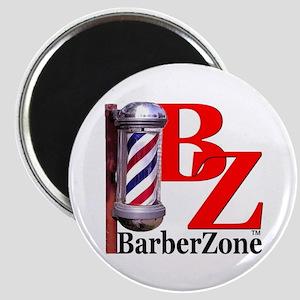 Official BarberZone Logo Magnet
