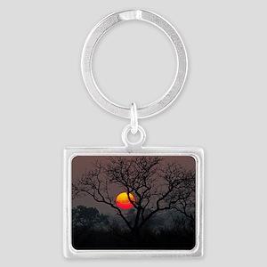 Sunset at Londolozi Landscape Keychain