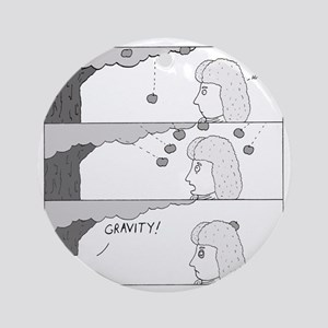 Gravity Round Ornament
