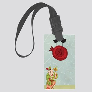 waterbottle-1 Large Luggage Tag