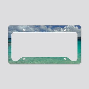 Sapphire Beach. View of the i License Plate Holder