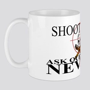 Shoot First Ask Questions NEVER! Mug