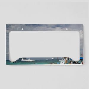 CAYMAN ISLANDS, GRAND CAYMAN, License Plate Holder