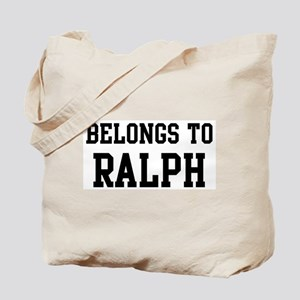 Belongs to Ralph Tote Bag