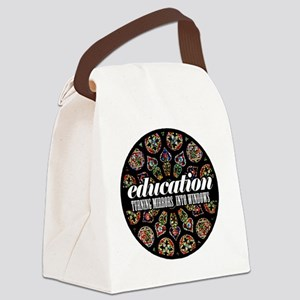 Education_by_sciophobik Canvas Lunch Bag