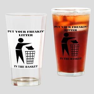 LITTER Drinking Glass
