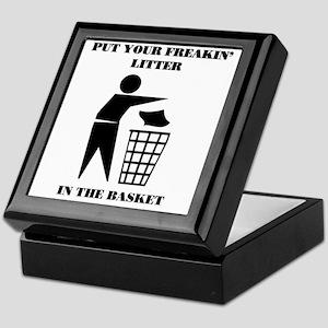 LITTER2 Keepsake Box