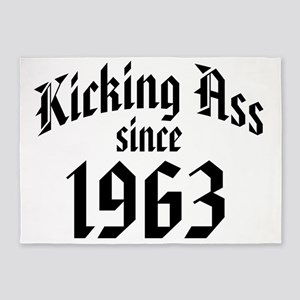 Kicking Ass Since 1963 5'x7'Area Rug