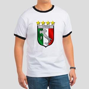 Italia Shield Ringer T