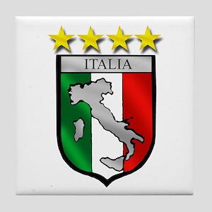 Italia Shield Tile Coaster