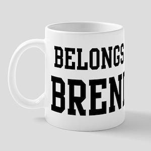 Belongs to Brenda Mug