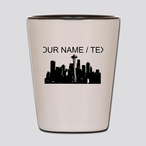 Custom Seattle Shot Glass