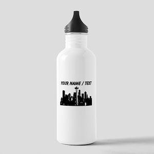 Custom Seattle Water Bottle