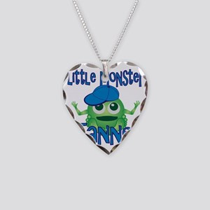 tanner-b-monster Necklace Heart Charm