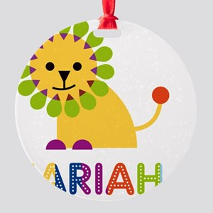 Zariah-the-lion Round Ornament