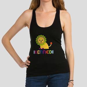 Kennedi-the-lion Racerback Tank Top