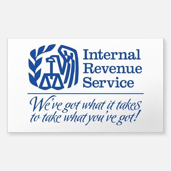 IRS Parody Stickers