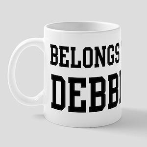 Belongs to Debbie Mug