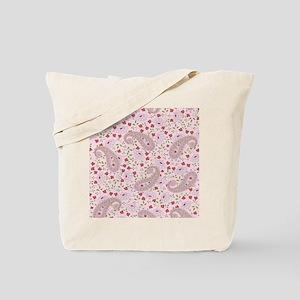 PinkPaisleyFlipFlops Tote Bag