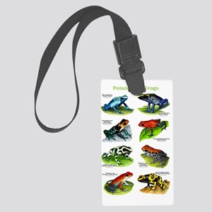 Poison Dart Frogs Large Luggage Tag