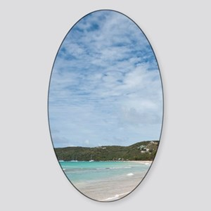 St. Vincent and the Grenadines. Gra Sticker (Oval)