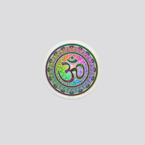 OM-mandala Mini Button