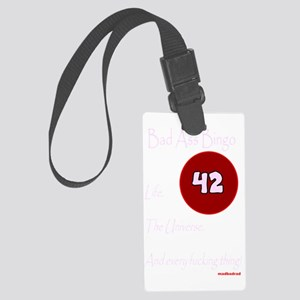 BAB 42 dark 3000 Large Luggage Tag