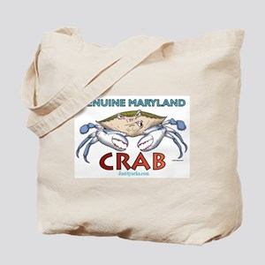 Double Maryland Crab Tote Bag
