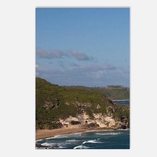 Coastline view by El Tune Postcards (Package of 8)