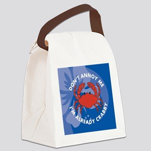 DontAnnoyMe-Wallet Canvas Lunch Bag