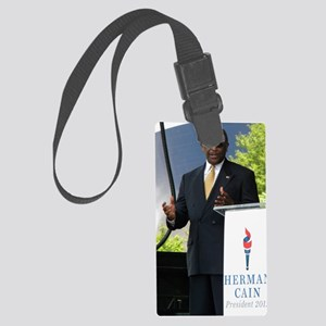 Herman Cain 2011 052 Large Luggage Tag