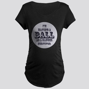 cancer Maternity Dark T-Shirt