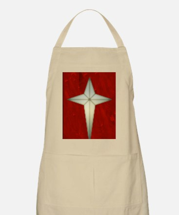 Bethlehem Star Christmas Charms Apron