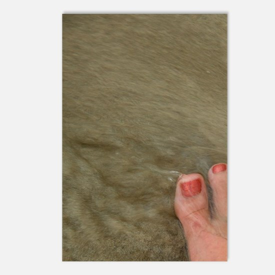 Magens Bay. Bare feet wit Postcards (Package of 8)
