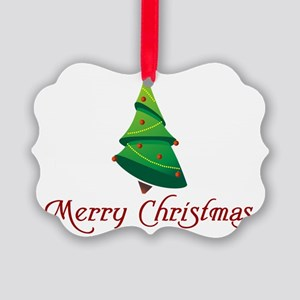 MerryChristmas Picture Ornament