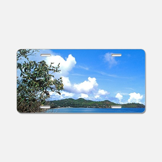 Marigot Bay in St Lucia Aluminum License Plate