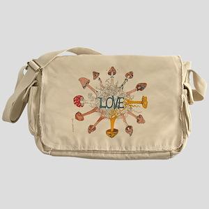 Shroom Love I Messenger Bag