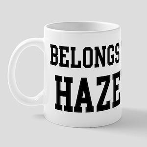 Belongs to Hazel Mug