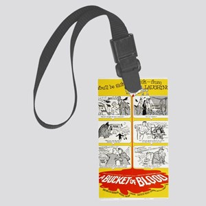 BucketofBlood3 Large Luggage Tag