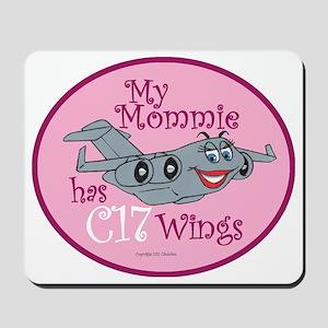 Mil 4C My Mom C17 Wings copy Mousepad