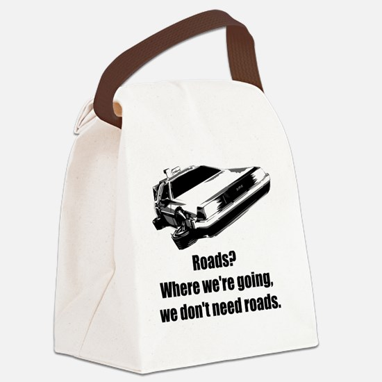 roads Canvas Lunch Bag