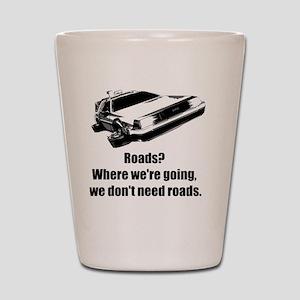 roads Shot Glass