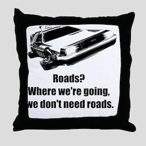 roads Throw Pillow