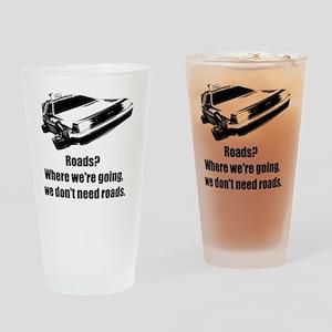 roads Drinking Glass