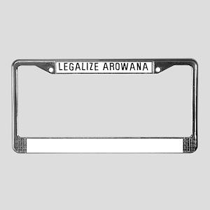legalarowana License Plate Frame