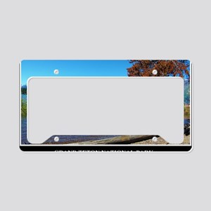 Grand Teton National Park License Plate Holder