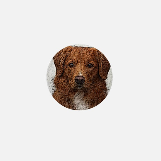 Nova Scotia Duck Tolling Retriever Mini Button