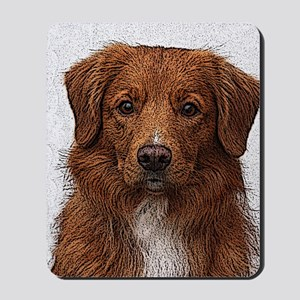 Nova Scotia Duck Tolling Retriever Mousepad